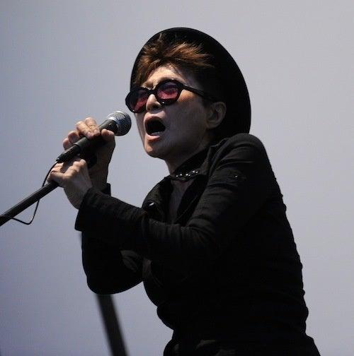 Yoko Ono Is One Shady Lady