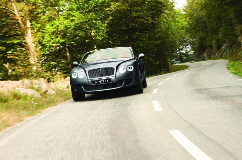 Bentley Continental GTC Speed: Staple Your Crown On Before You Hit The Pedal
