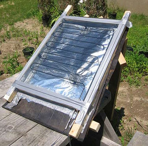 Make a Solar Water Heater for Less Than $5