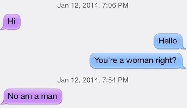 Creepy Things Men Think It's OK to Say to Lesbians on Dating Apps