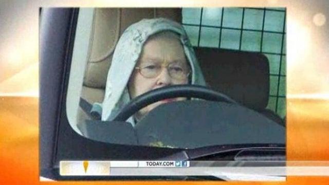 Hoodie-Wearing Queen Elizabeth Spotted Rollin' in Her Range Rover