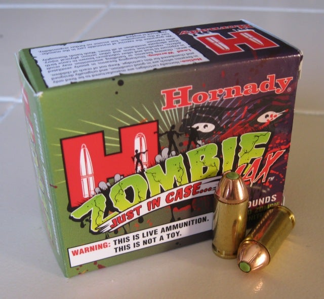 Real Bullets To Kill Real Zombies, Get 'Em Before It's Too Late