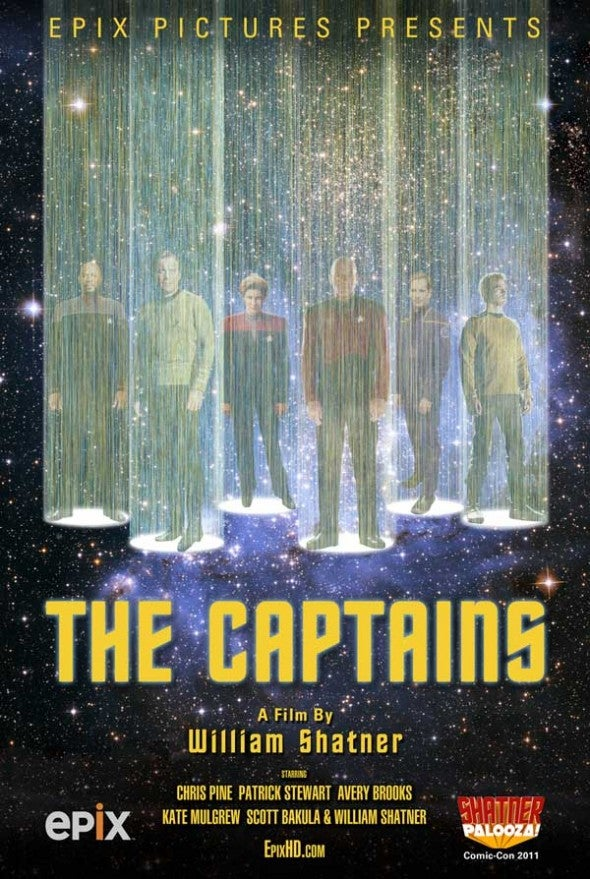 A preview of The Captains, William Shatner's bizarre musical documentary tribute to Star Trek