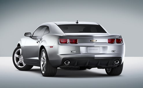 2010 Chevrolet Camaro Official Pics And Press Release