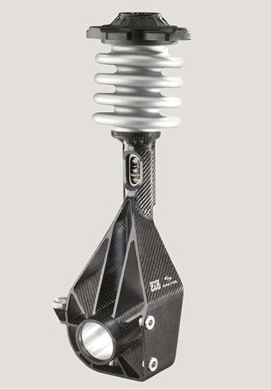 Cheaper! Lighter! ZF's Carbon Fiber MacPherson Strut