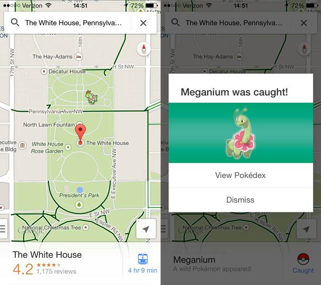 Hvordan finne Pokémon På Google Maps