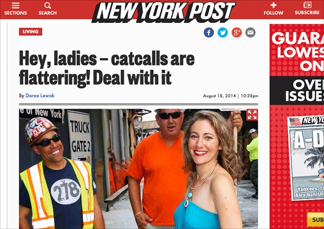 Hey, Ladies—Being a Woman Is Easy! Deal With It!