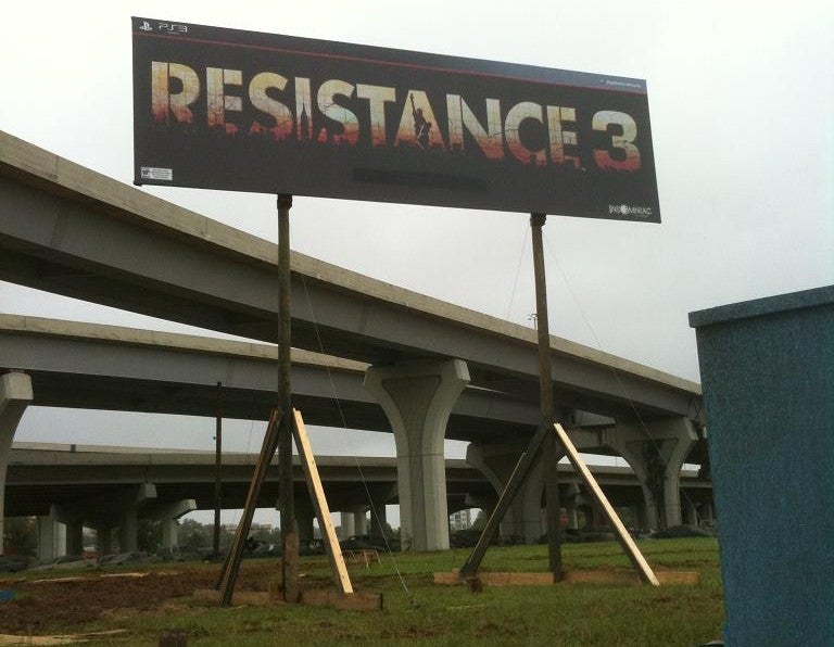 Prop Billboard Gives Up Resistance 3 Date?