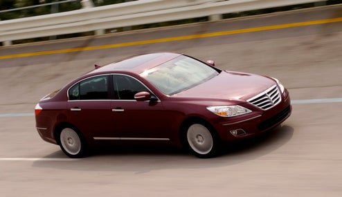 2009 Hyundai Genesis Earns Five-Star NHTSA Crash Test Scores