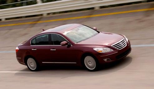 2009 Hyundai Genesis Earns Five-Star NHTSA Crash Test Scores
