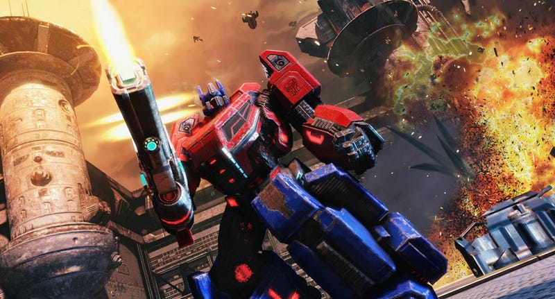 The Lead Game Designer of Transformers: Fall of Cybertron is Answering Your Questions Now