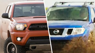 How Should We Make The Nissan Frontier, Toyota Tacoma Battle Off-Road?