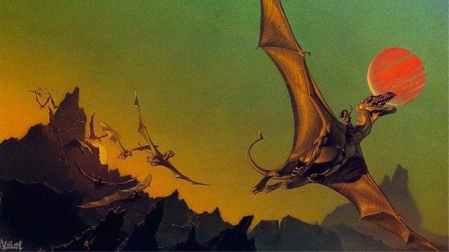 Watchmen writer adapting Anne McCaffrey's Dragonriders of Pern to film