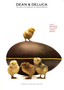 Harry, David, Dean & Deluca: Chocolate Pagan Easter Symbols And $6,000 Caviar