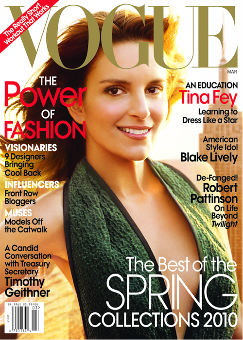 Tina Fey Emerges From Vogue Cover And Profile Mostly Intact