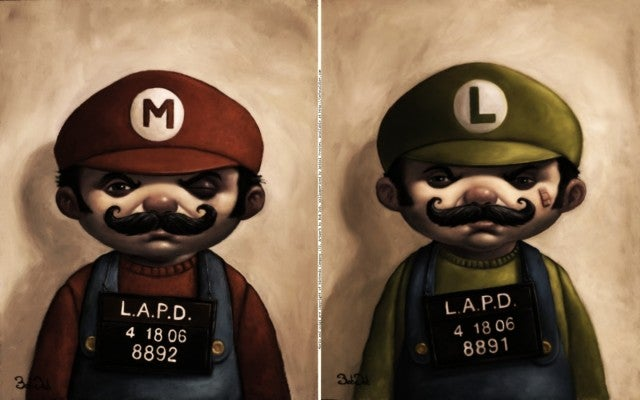 Mario, Luigi Wanted For Assault, Battery