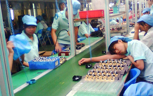 "Microsoft Supplier Factory Treats Workers Like ""Prisoners"""