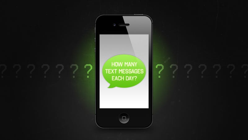 How Many Text Messages do You Send Each Day?