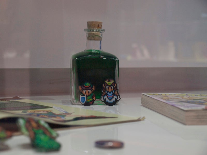 25 Years of Zelda on Display at Nintendo World