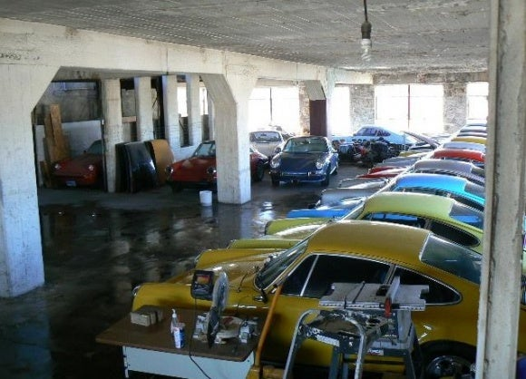 Huge Porsche Collection For Sale By Owner Who Never Sells His Porsches