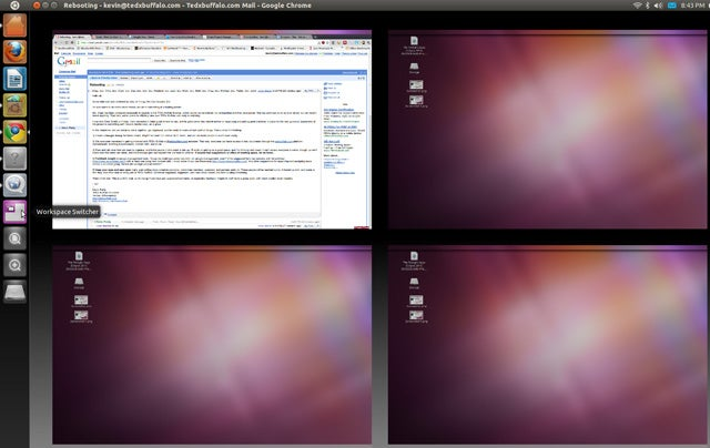 "First Look at Ubuntu Linux 11.04 ""Natty Narwhal"" Beta"