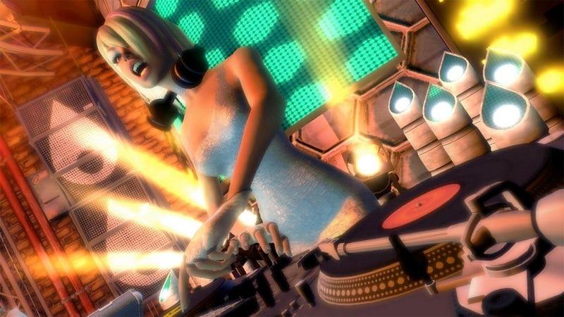 DJ Hero, Guitar Hero Downloads Dry Up