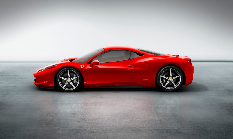 Ferrari 458 Italia: 562 HP Of F430-Replacing Italian Muscle