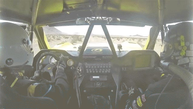 This Is What A Rollover At 105 MPH Looks Like