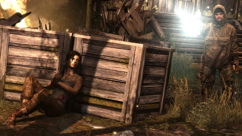 It's A Desperate Fight For Survival In The Opening Hours Of Tomb Raider