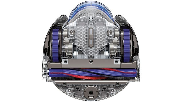 Dyson's First Robo-Vac Has Tank-Treads and a 360-Degree Camera