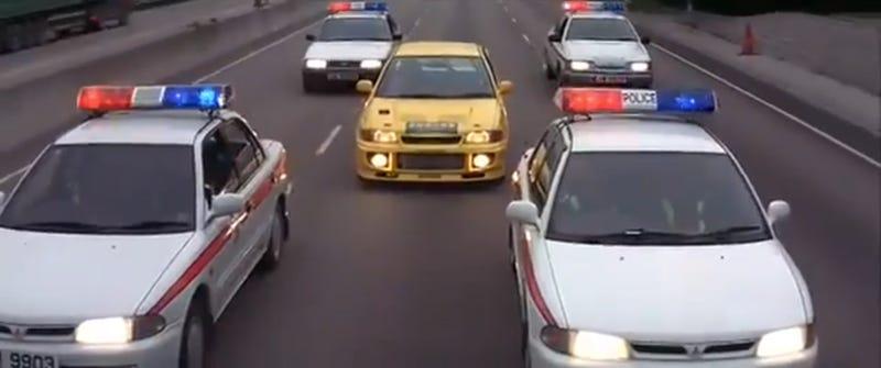 Jackie Chan As The Original Tuner Car Movie Star