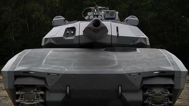 Crean un prototipo de tanque invisible a detección por infrarrojos 658692497148461347