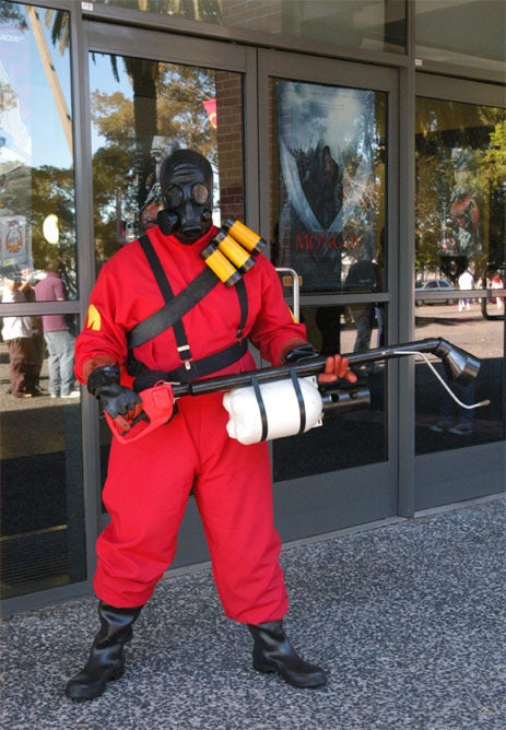 Sweet Pyro Costume from Down Under