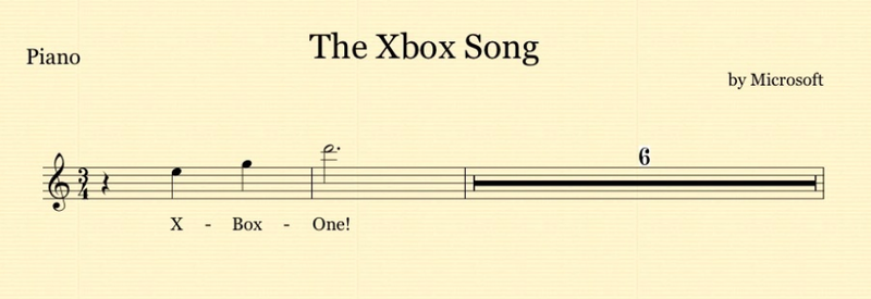 Songs in the Key of Xbox One