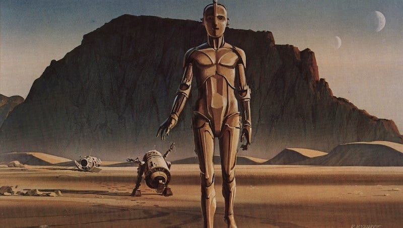 R.I.P. Ralph McQuarrie, the man who designed Darth Vader