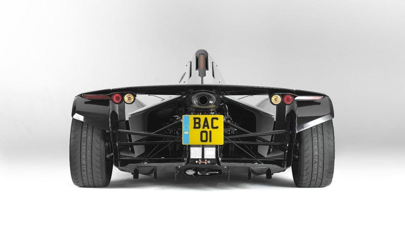New BAC Mono race car for the street is fast, not fake