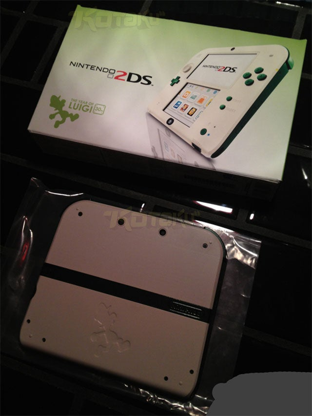 We Might Be Getting A Luigi-Themed 2DS [Update: It's Fan-Made]