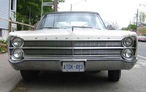 DOTS-O-Rama Sunday: 1967 Plymouth Fury III