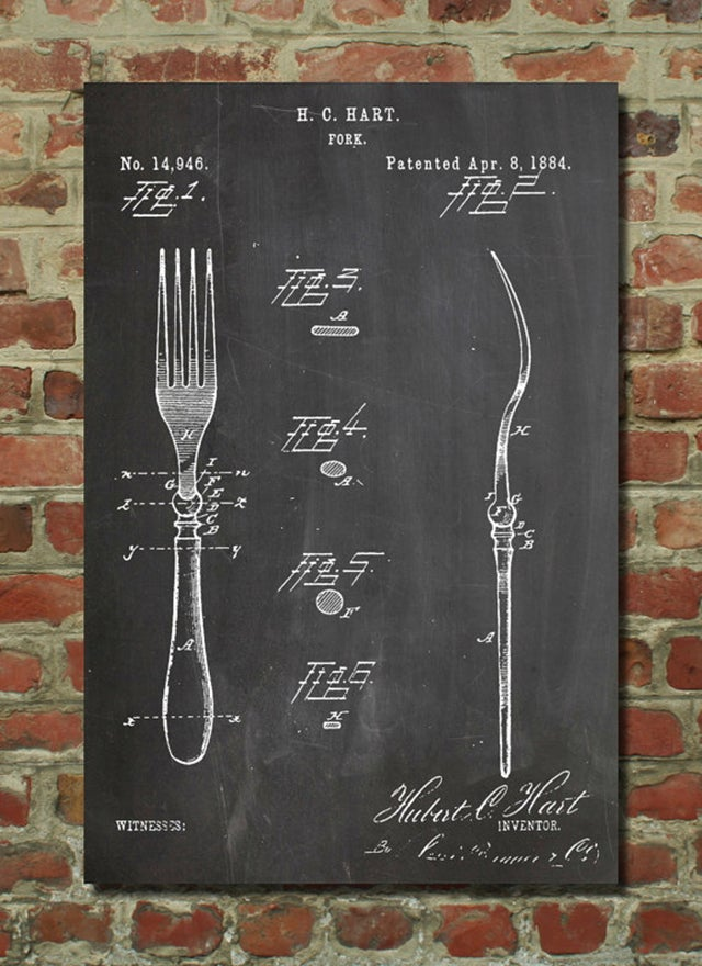Posters of Famous Patents Put Other People's Great Ideas On Your Wall