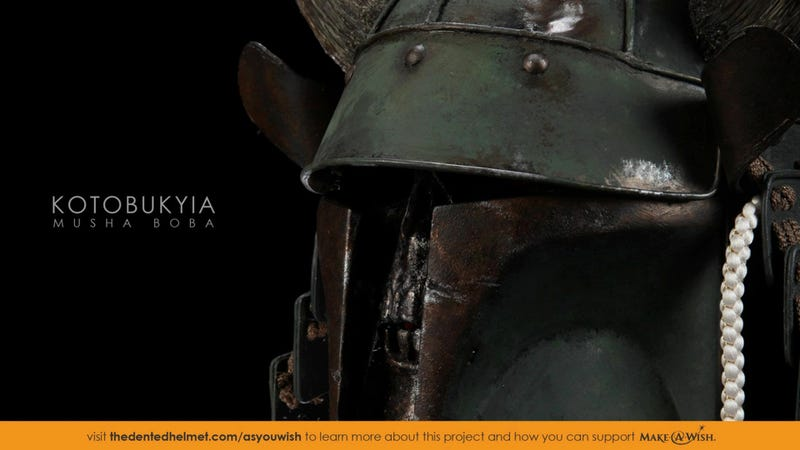 Samurai Meets Star Wars in a More Civilized Boba Fett Helmet