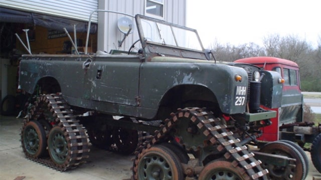 Rare Cuthbertson tracked Series II is the highlight of unusual Land Rover auction