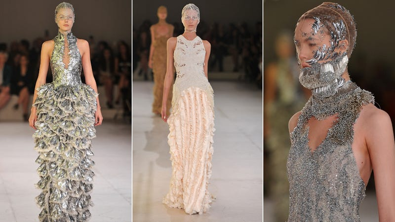All the Craziness from Today's Alexander McQueen Show