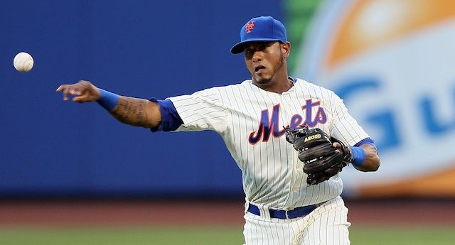 Mets Utility Player Jordany Valdespin Took A Fastball Right To The Dick