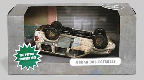Realistic Car Toys Teach Kids About Harsh Urban Reality