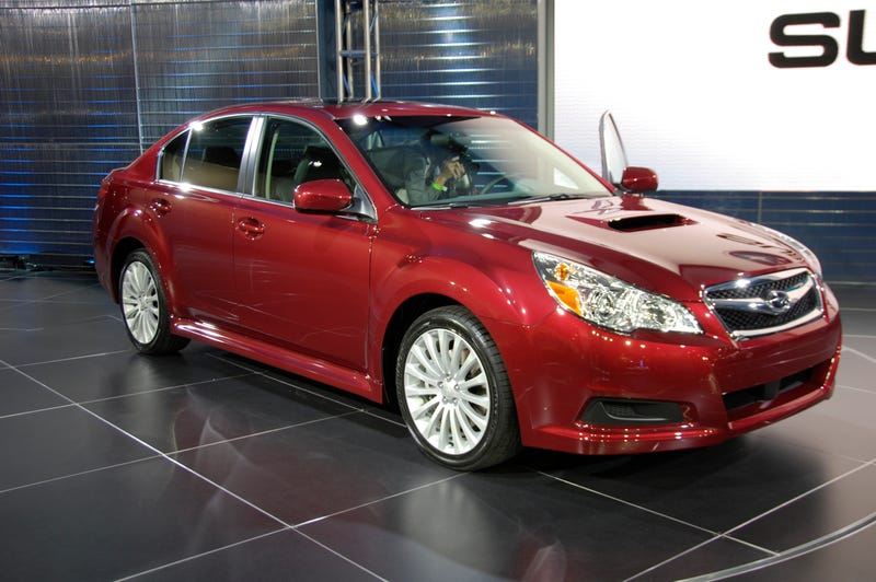 2010 Subaru Legacy: More Curves, More Power