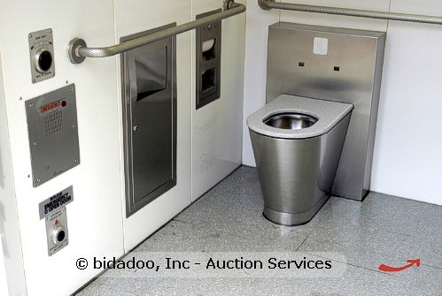 Seattle's Filthy, Prostitute-Ridden Automated Public Toilets Now Available on eBay