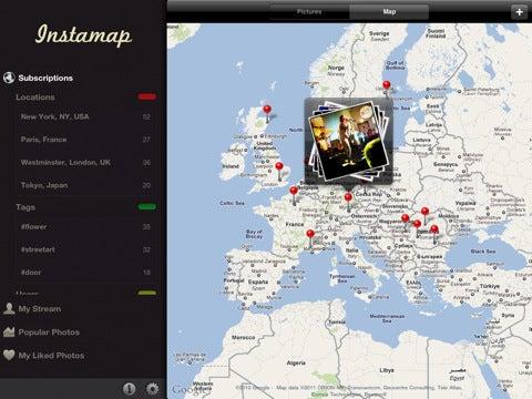 Instamap App Gallery