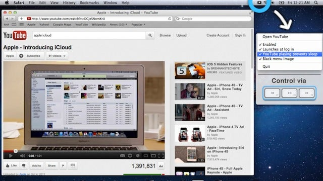 Tube Controller Integrates the Mac Media Keys Into YouTube