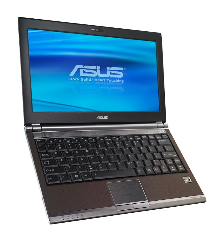 ASUS U2E Is A Light, Leather Bound Notebook That Is Heavy On Features