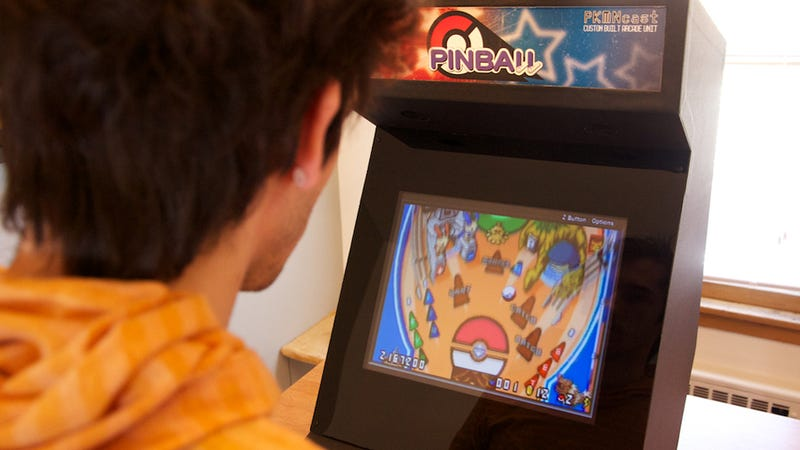 This Impressive Custom-Built Arcade Machine Was Specially Designed For Pokémon Pinball